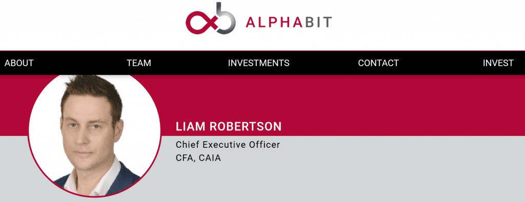 Liam Robertson and Alphabit