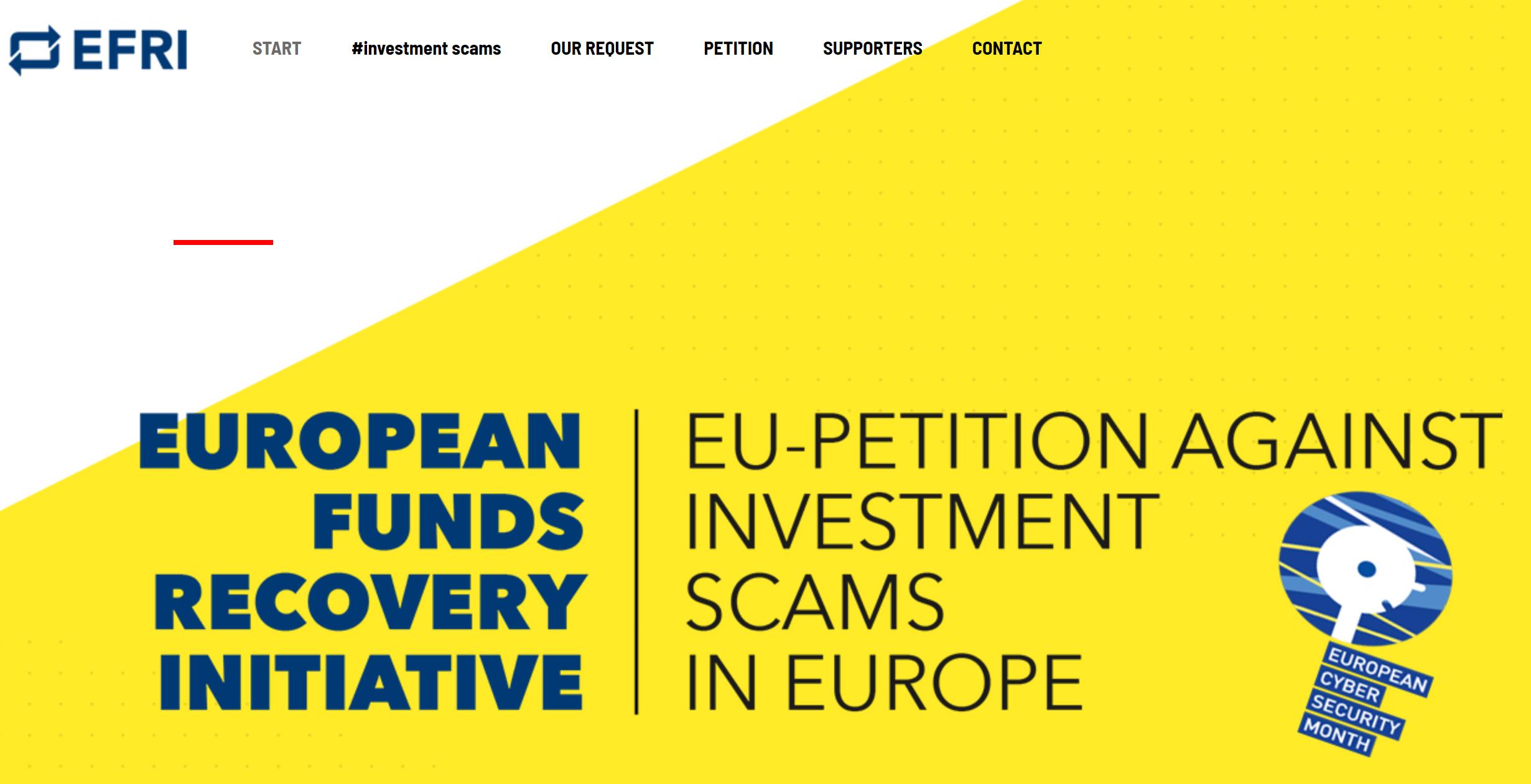 EFRI EU Petition