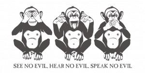 Three Wise Monkeys Strategy for Fintech Startups