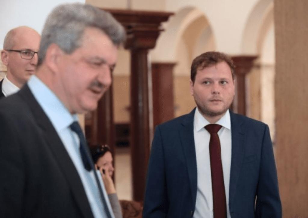 Gal Barak with Bulgarian lawyer