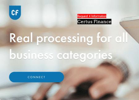 Certus Finance Request 4 Information