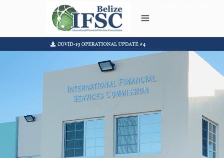 Offshore regulator IFSC Belize