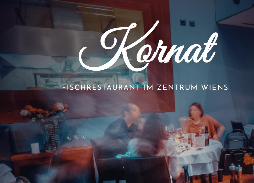 Fish restaurand Kornat near CTP in Vienna