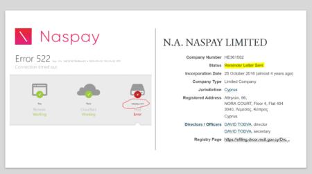 Naspay offline