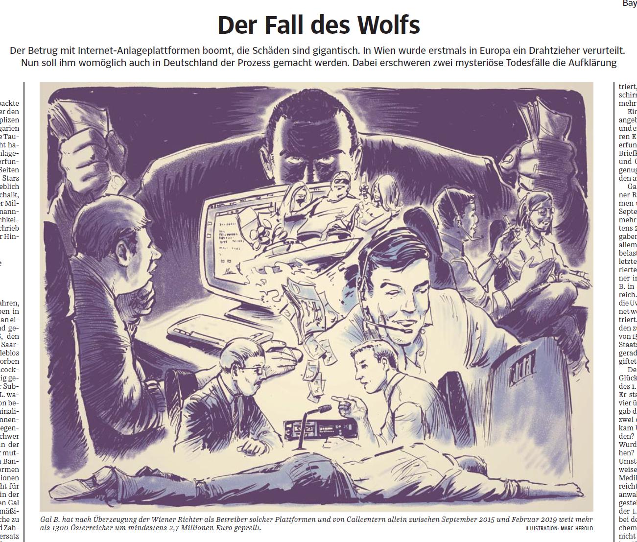 SZ Der Fall des Wolfes Gal Barak