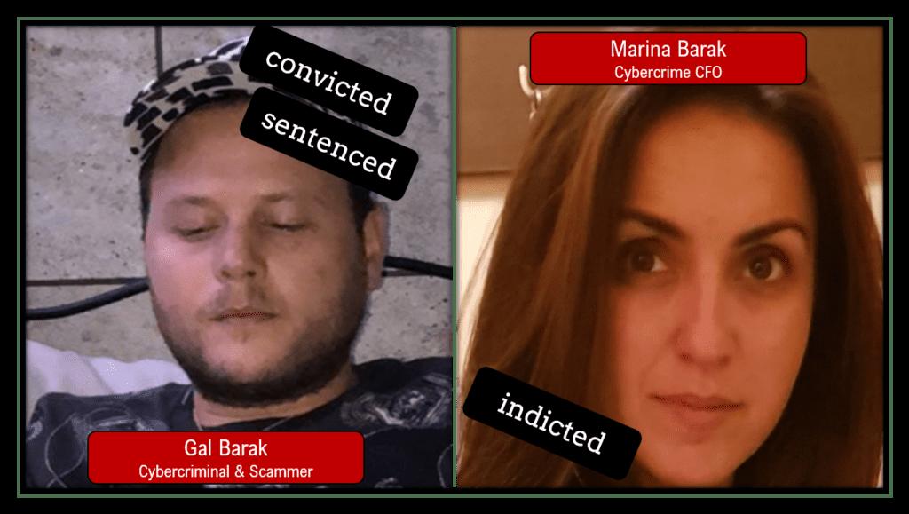 Gal Barak and Marina Barak in Vienna Cybercrime Trials