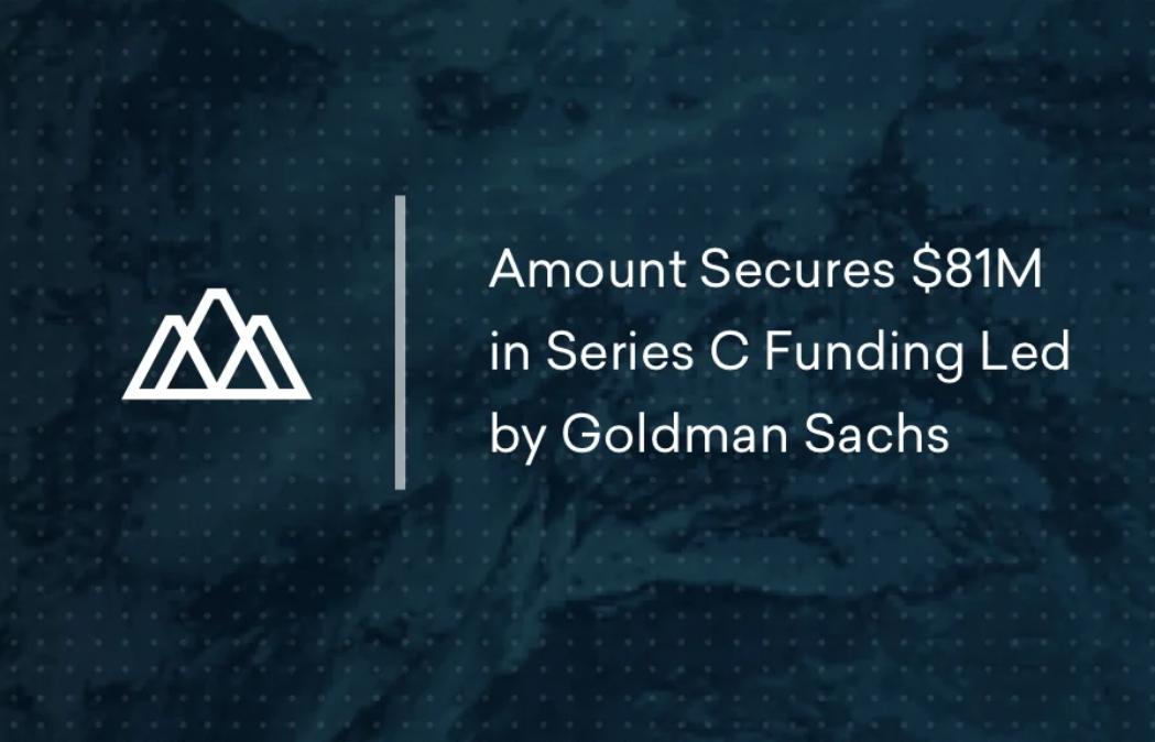 FinTech Amount raises $81 mio with Goldman Sachs