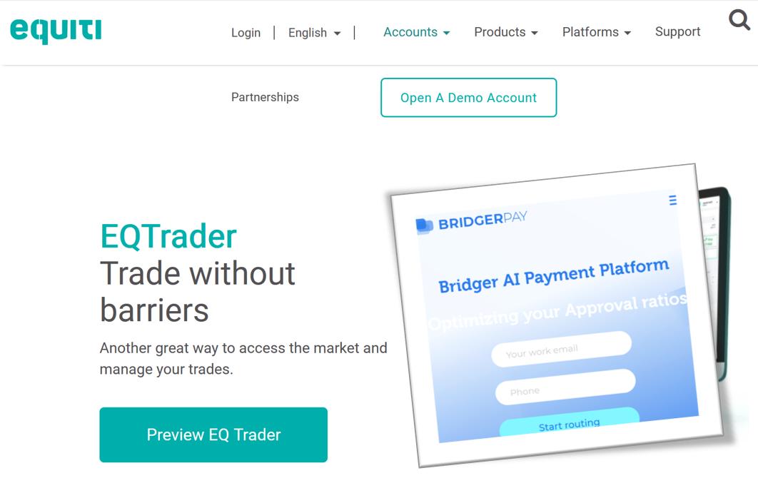 BridgerPay and Equiti Group