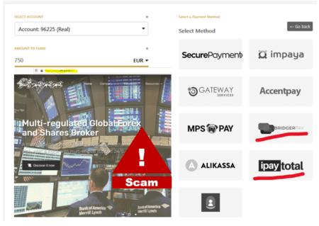 FCA warns against WFT broker scam