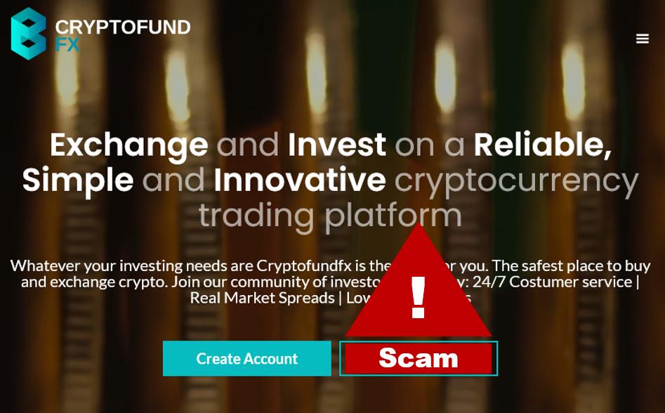 FMA warns against CryptofundFX scam