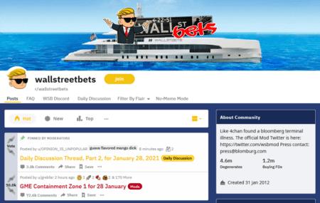 WallStreetBets Reddit Traders
