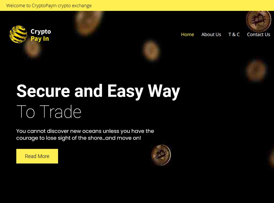 CryptoPayin facilitates broker scams