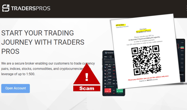 FCA warns against TradersPro broker scam