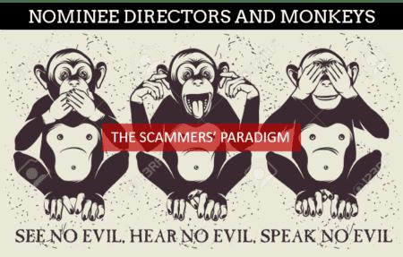 Scammers love wise monkeys