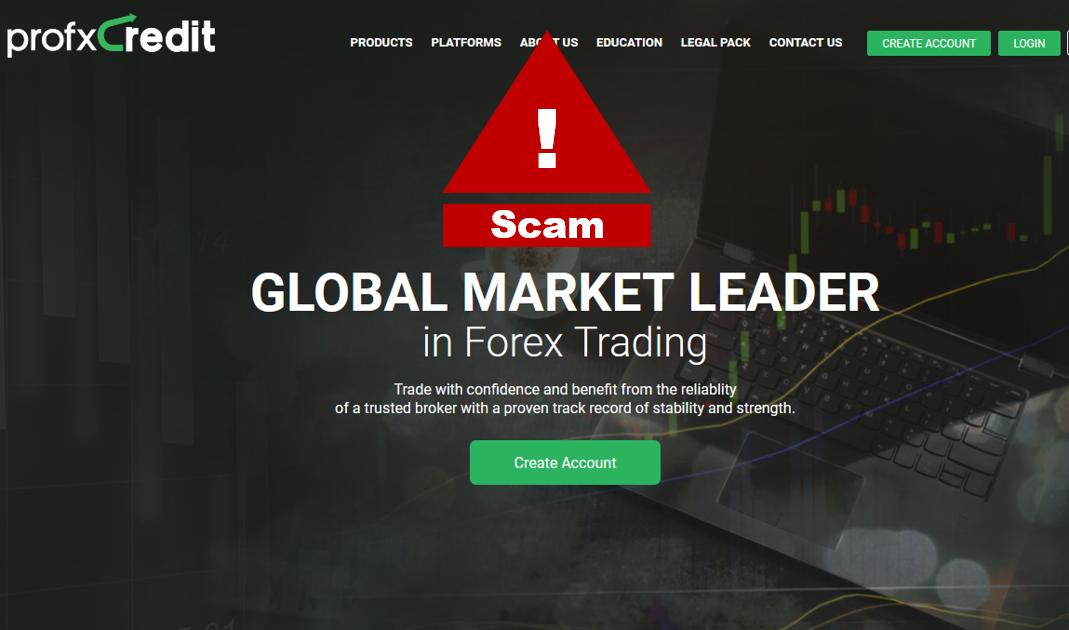 proFXCredit broker scam