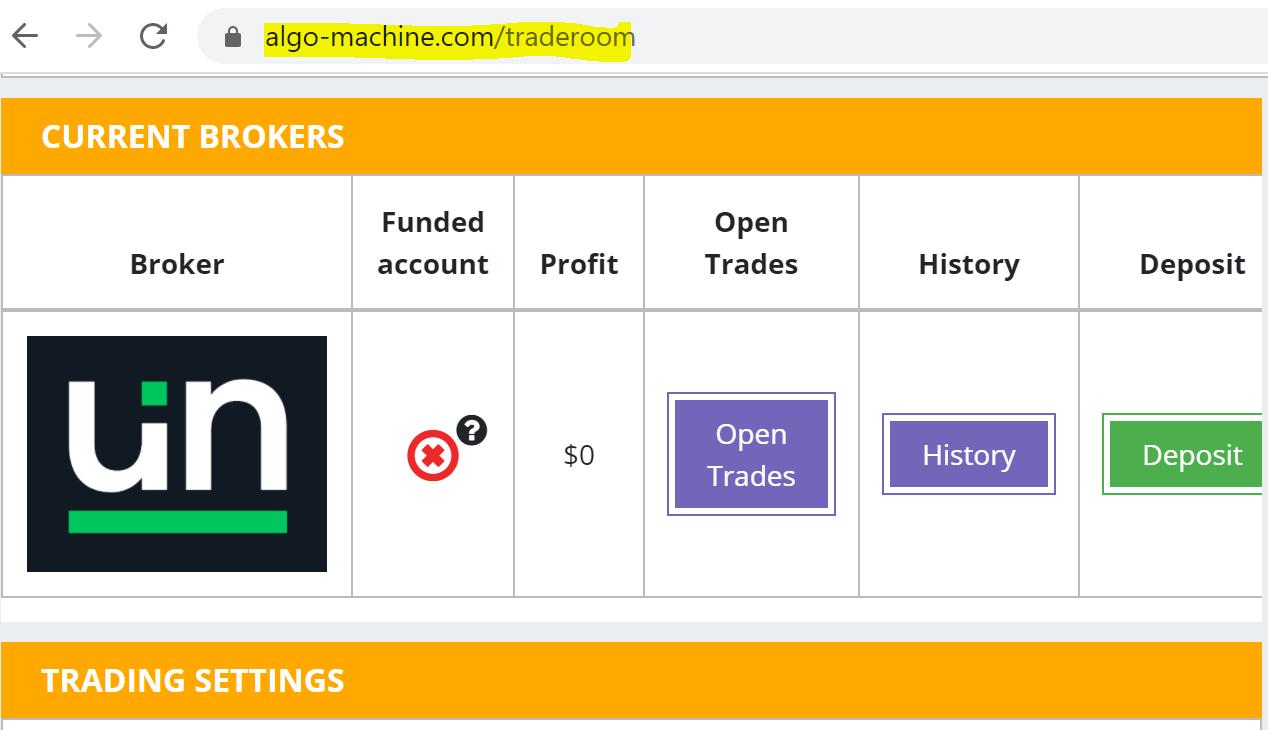 fraudulent introducing broker Algo Machine
