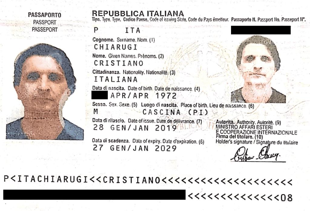 Cristiano Chiarugi beneficial owner and managing director Futurus X
