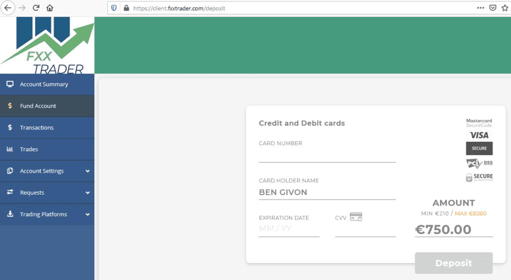 FXX Trader Scam with Bridgerpay