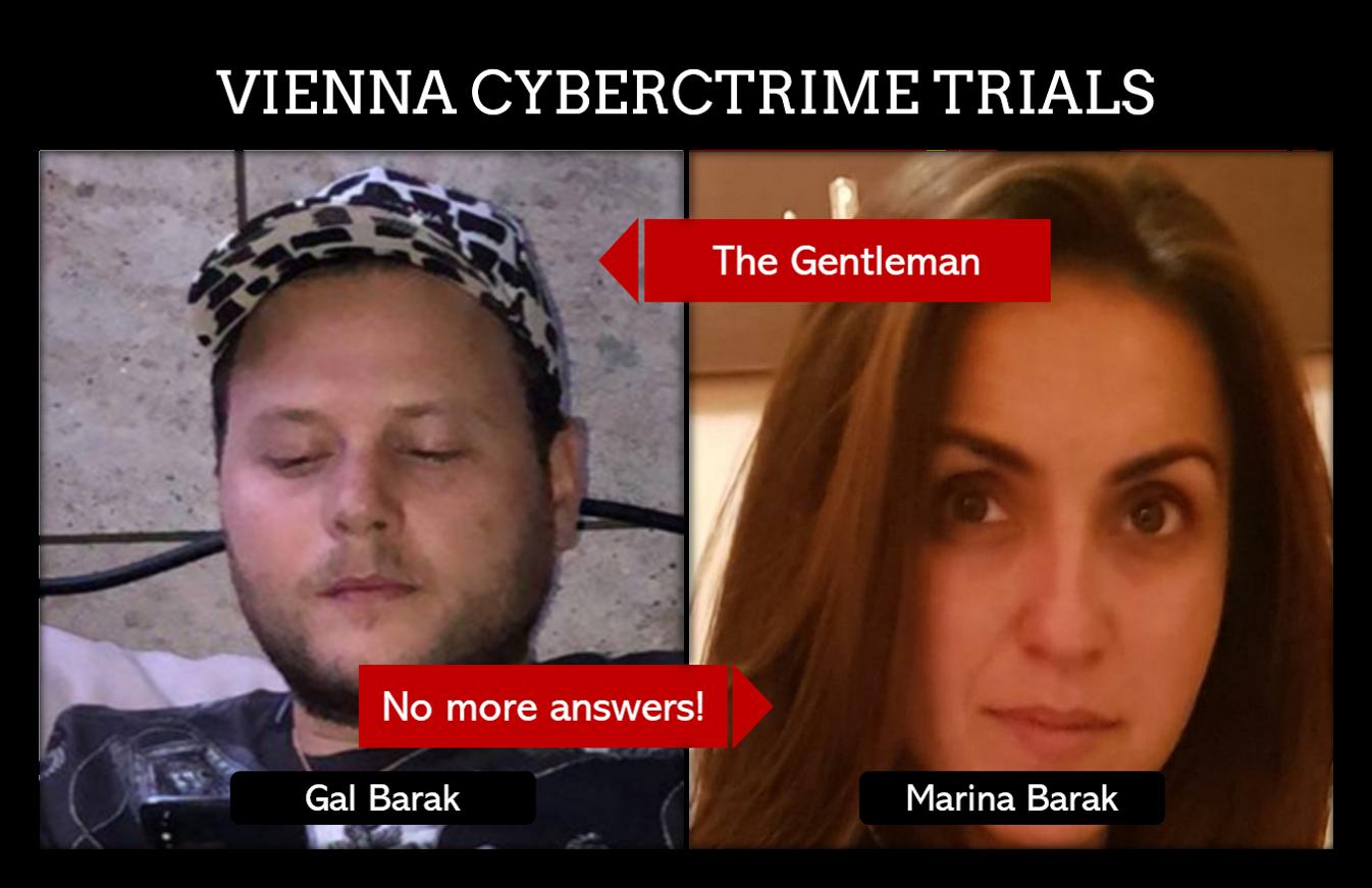 Gal Barak and Marina Barak show no remorse