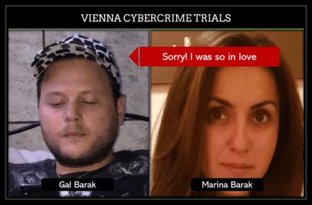 Marina Barak stands trial in Vienna Cybercrime Trials