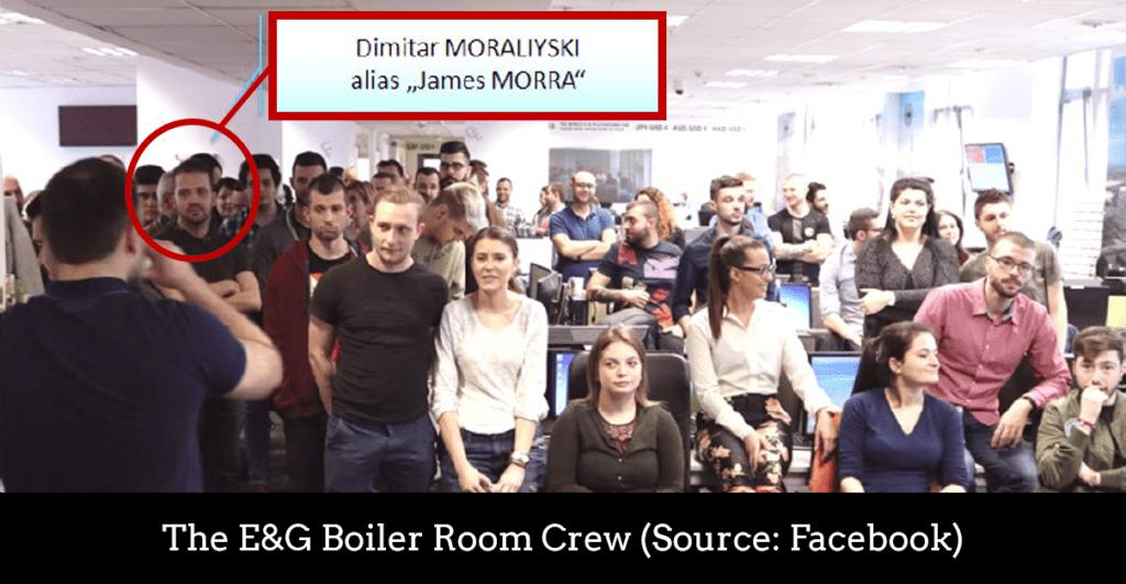 Boiler Room fraudster Dimitar Moraliyski aka James Morro