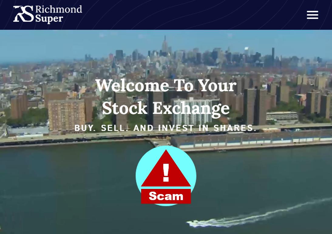 investor warning richmond super broker scam
