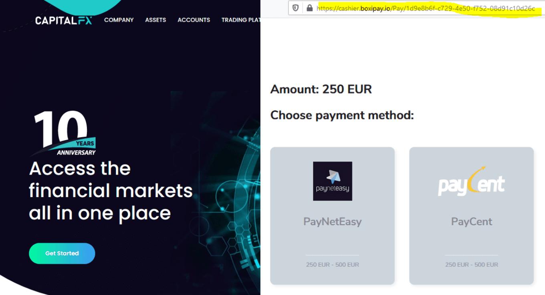Investo warning against CapitalFX