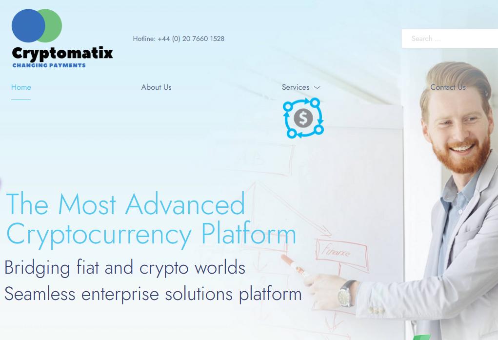 iPayTotal launches CryptoMatix crypto payment platform