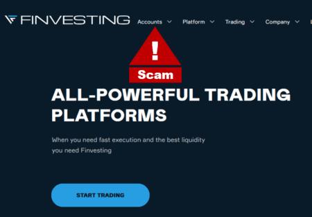 Finvesting broker scam