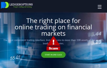 Investor warning Ledgeroptions broker scam and Tifiya Group