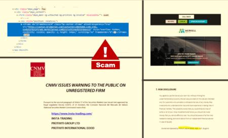 broker scam Merkell Group facilitated by BridgerPay