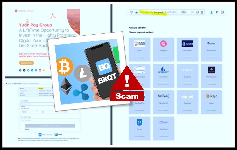 Fraud campaign BitQT promotes AlgofGain broker scam
