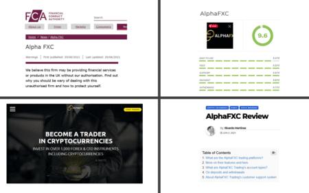 Investor warning AlphaFXC broker scam