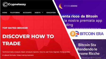 Bitcoin Gemini fraud campaign promotes Cryptoneteasy scam