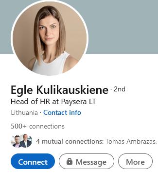 Findiban co-founder and Paysera executive Egle Kulikauskiene