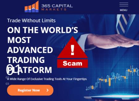 365CapitalMarkets scam