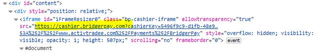 ActivTradee broker scam facilitated by BridgerPay