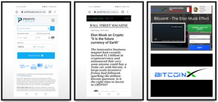 BitcoinX fraud campaign promotes ProfitsTrade scam