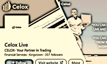 Celox broker scam on social media