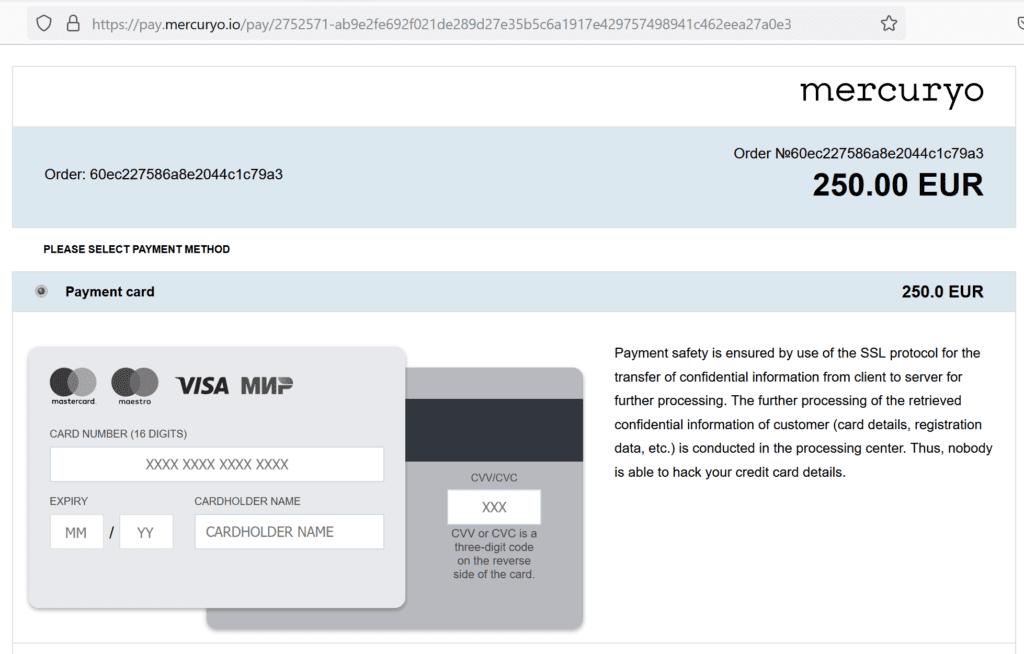 GlareMarkets scam facilitated by finanic and mercuryo