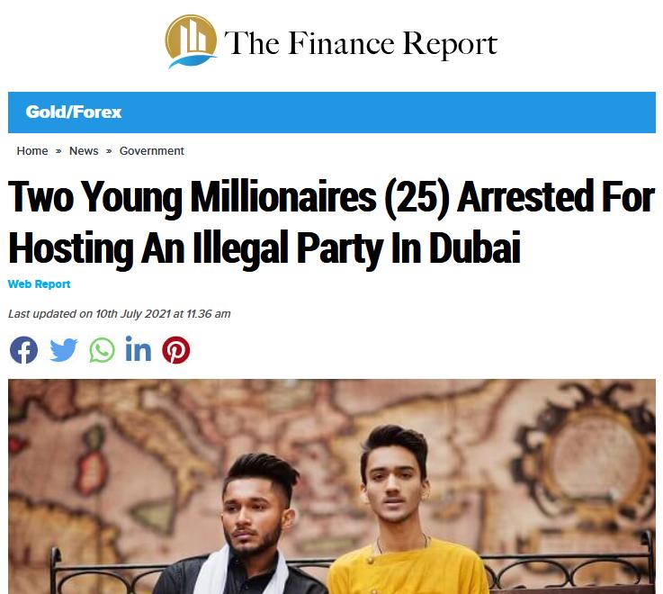 Fake news report on Immediate Edge campaign