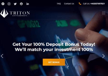 Investor Warning Triton Capital Markets