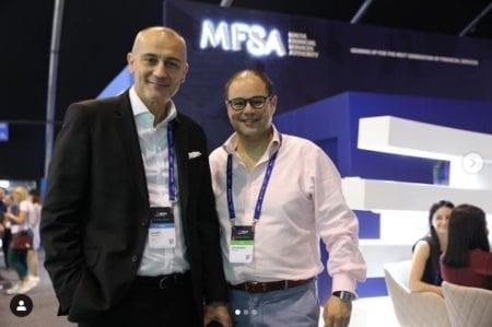MFSA boses Joe Cuschieri and Christopher Buttigieg