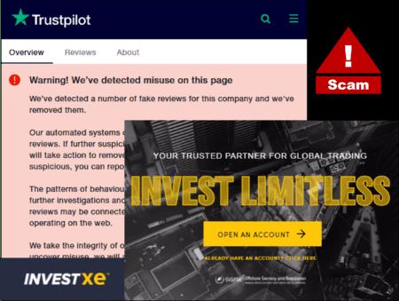 warning against InvestXE broker scam