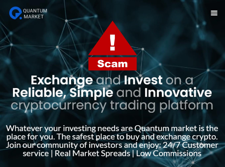 BaFin warns against QuantumMarket crypto broker scam