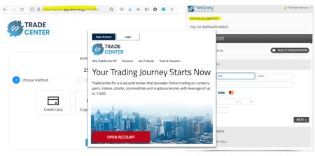 BaFin warns against Trade Center broker scam