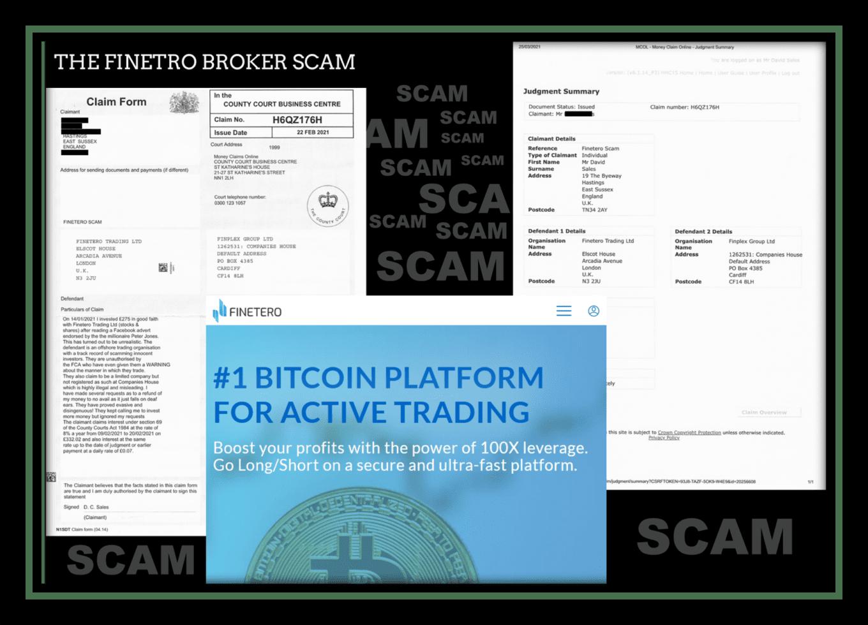 investor warning fintero broker scam
