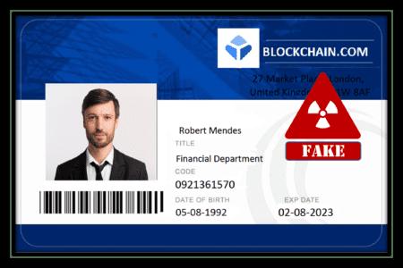 warning JoyTrust fakes blockchain.com