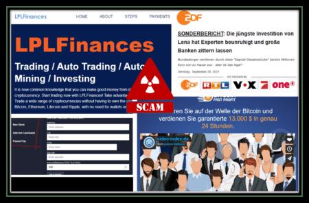 investor warning LPLFinances crypto broker scam