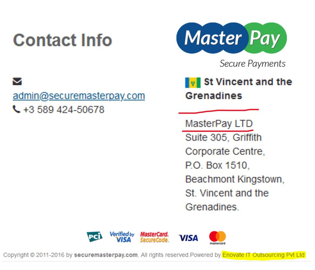 MasterPay facilitates the PrimeCryptoCapital broker scam